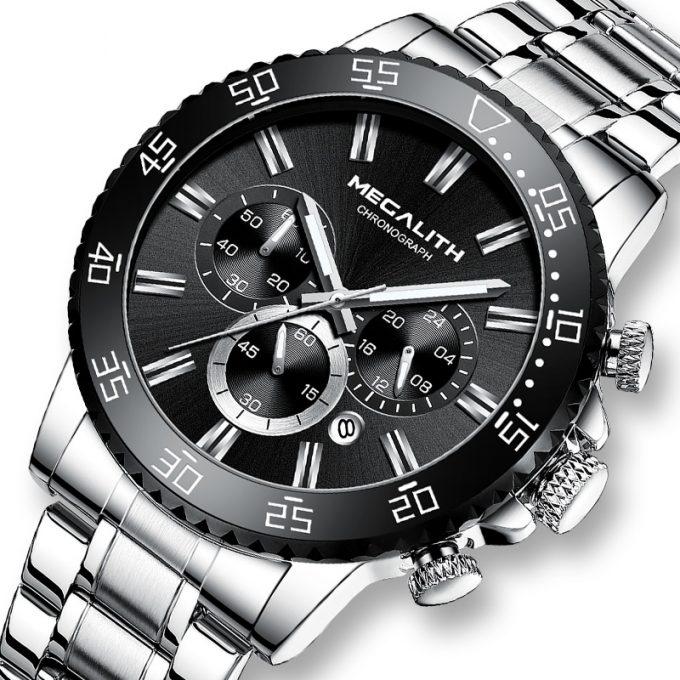 prisvärd megalith klocka armbandsur 8227